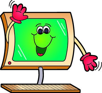 animated computer clipart 2